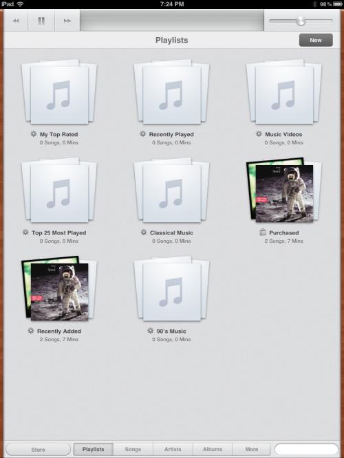 Nová aplikace iPod pro přehrávání hudby v iOS 5