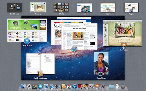 Mac OS X Lion Brings Tablet Functions to Mac