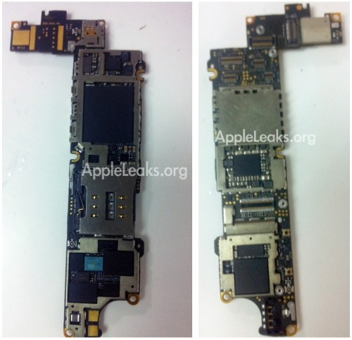 iphone 4s 5 logic board 500x483 Photos of iPhone 4S/5 Logic Board Suggest A5 Processor | Tech NEWS