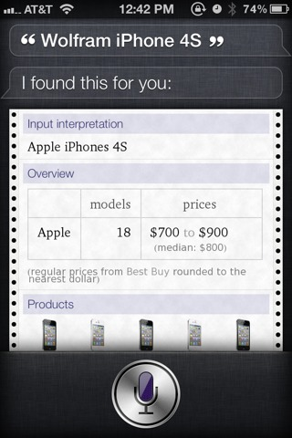 wolframbestbuy Wolfram Delivers Siri Enabled Shopping Results From Best Buy [iOS Blog] | Tech NEWS