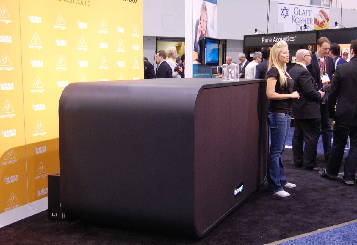 Ces 2012 Behringer S 30 000 Inuke Boom Speaker On Display Macrumors