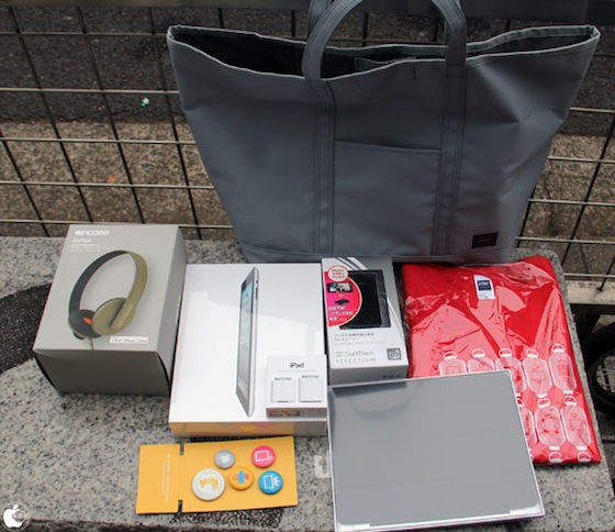 lucky bag ipad 2 2012 Japanese Apple Fans Line Up for Annual Lucky Bag Discounts | Tech NEWS