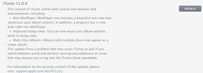 photo image Apple Releases iTunes 11.0.4 with Multiple Bug Fixes