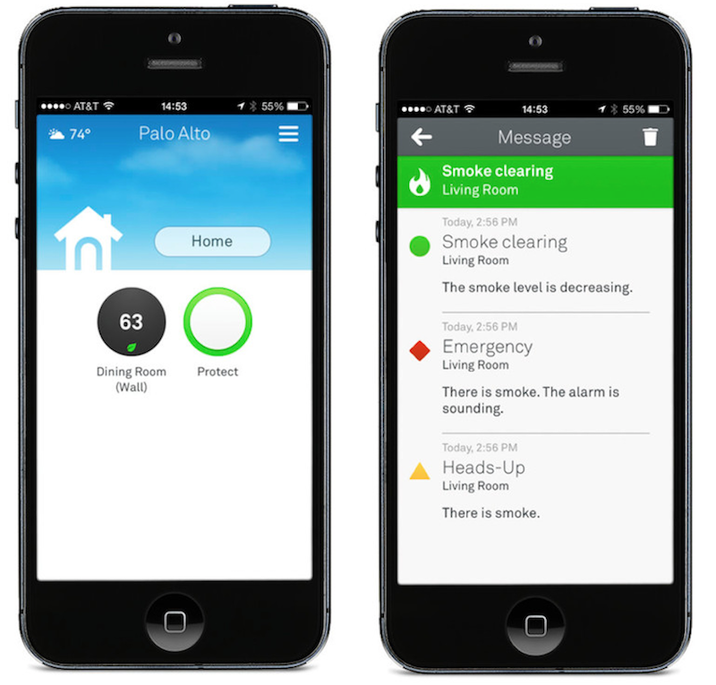 Nest mobile gets update with redesign nest protect for Redesign my room app