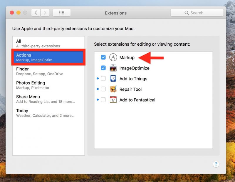 How To Enable Markup Annotation Tools In Macos Macrumors