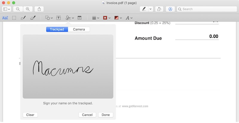 How to Electronically Sign a PDF Using Preview on Mac - MacRumors