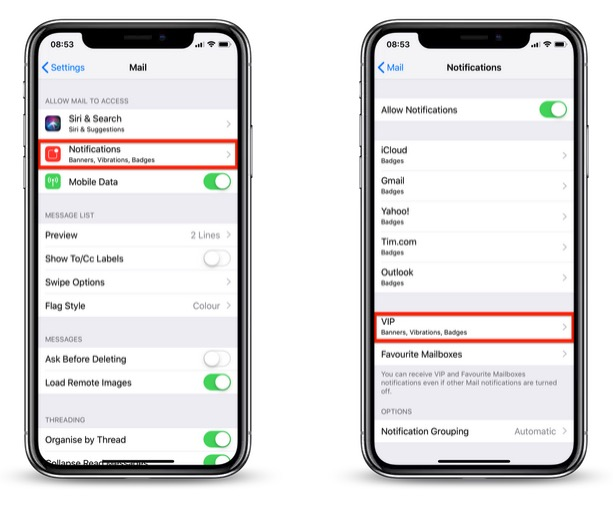 How to Receive Unique Alerts for VIP Emails on iPhone and iPad - MacRumors