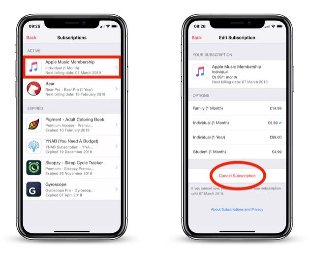 How To Cancel An Apple Music Subscription Macrumors