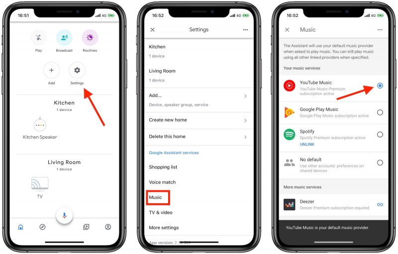 How To Listen To Youtube Music For Free On Your Google Home Or Google Assistant Speaker Macrumors