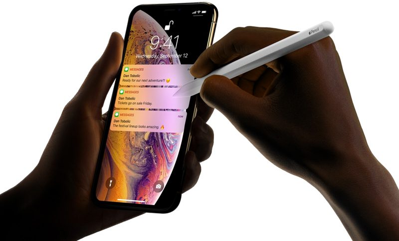 analysts predict apple pencil support for 2019 iphones macrumors forums