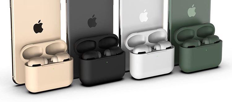 Airpods Pro To Feature New Colors Including Black And Midnight