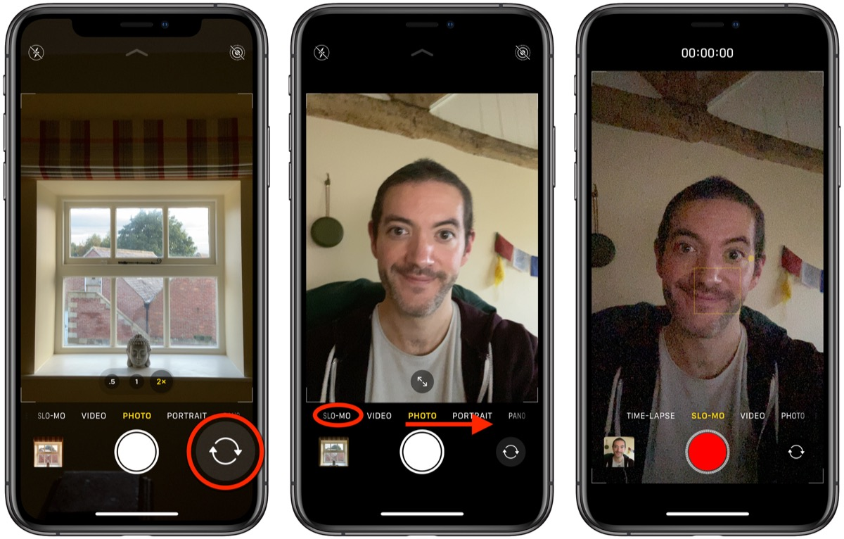 How To Take A Slow Mo Selfie Or Slofie On Iphone 11 Iphone 11 Pro And Iphone 11 Pro Max Macrumors