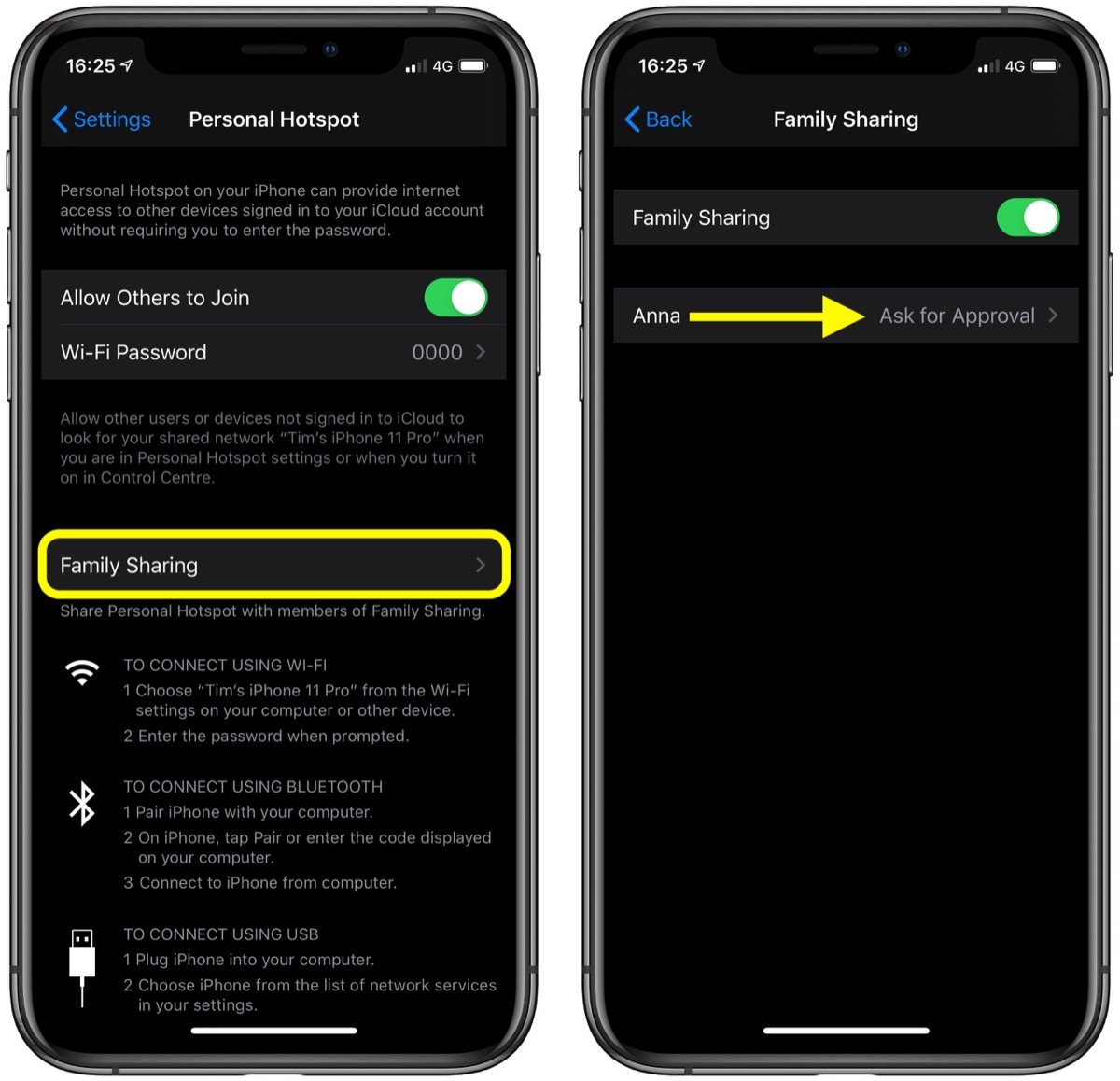 How To Use Instant Hotspot On Iphone And Ipad Macrumors