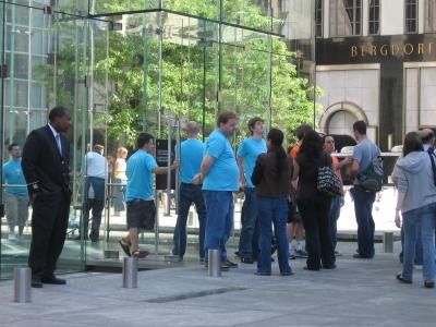 Apple Store da 5th. Avenue fechada temporariamente