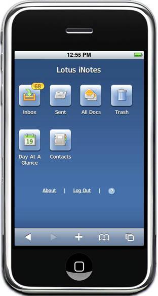 IBM Previews Lotus iNotes For iPhone 144120-dwa-ultralite-1