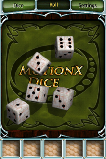 MotionX's Free Dice App a 'Must Get' 175013-dice_220