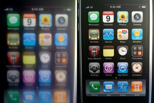 iPhone 3G VS iPhone 3Gs