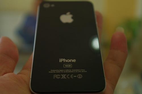 Prototipe iPhone 4G Belakang
