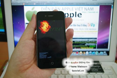 Prototipe iPhone 4G With Mac