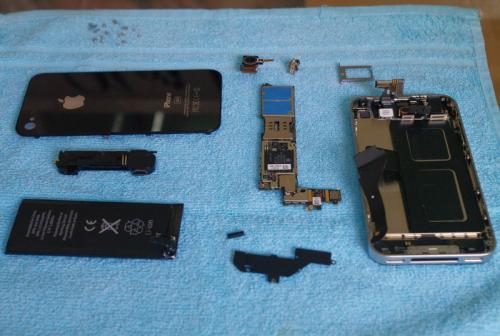 Prototipe iPhone 4G Teardown