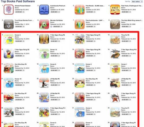 App Store, Hacked. 180136-ranks_500