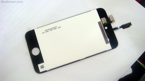 to be the front LCD and bezel of the upcoming 4th generation iPod Touch.