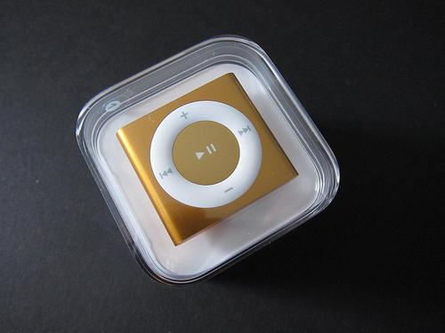 Ipod Shuffle 4th Generation. Fourth-Generation iPod Shuffle
