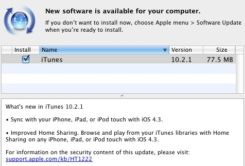 181030 itunes 10 2 1 ITunes 10.2: Ready for Ipad 2