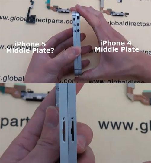 iphone 5. Screenshot of iPhone 5 Parts