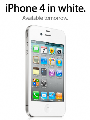 iphone 4 white singapore. White iPhone 4 models will be