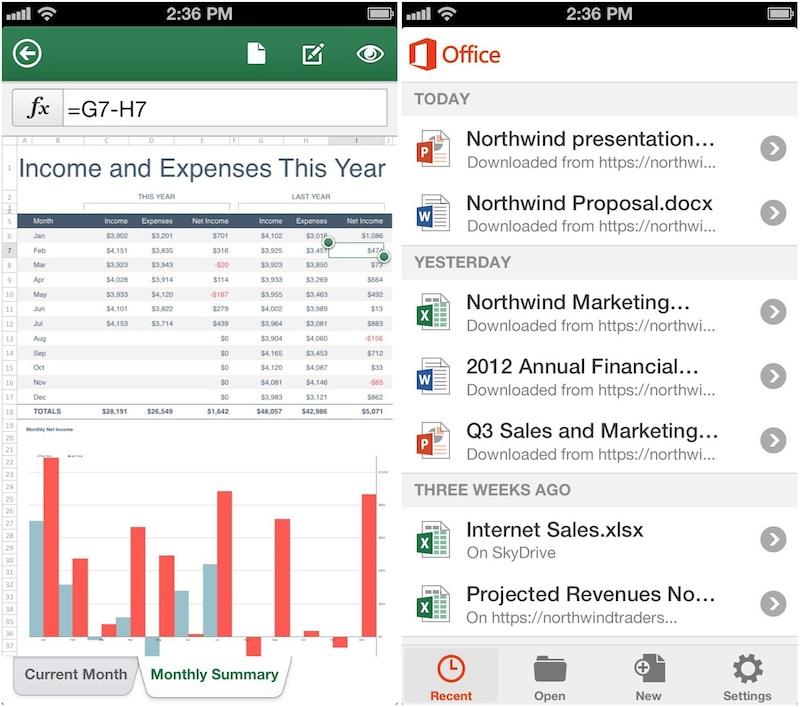 office_mobile_iphone_screenshots