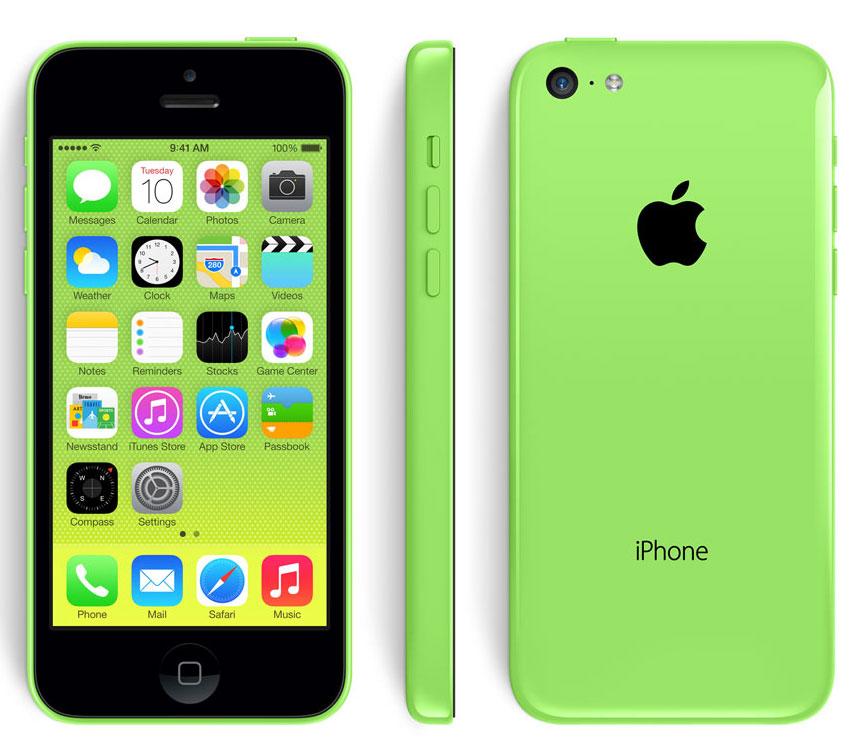 green iphone5c