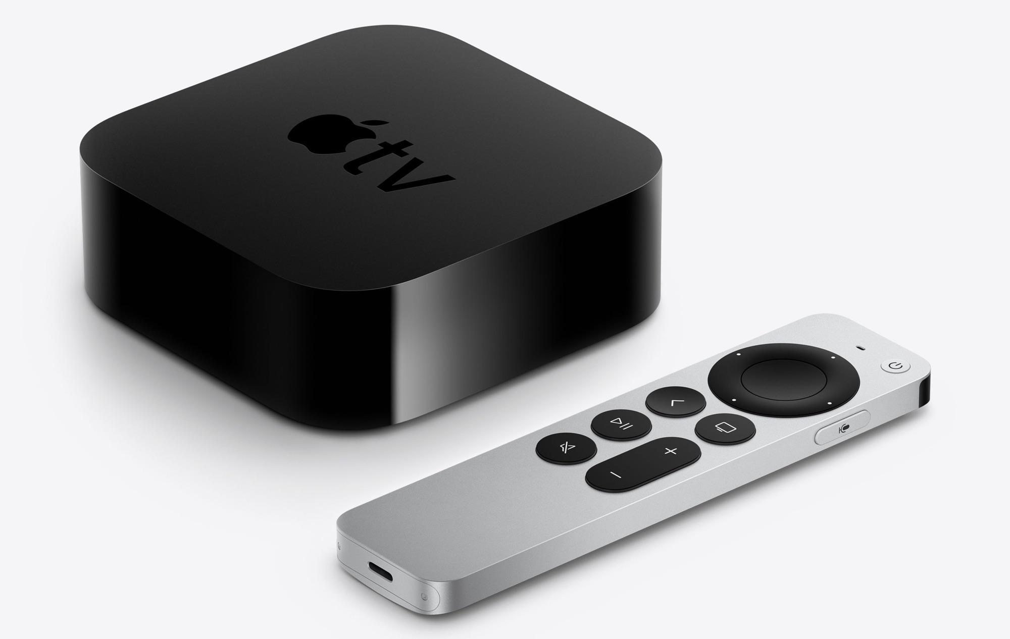 apple tv 4k design