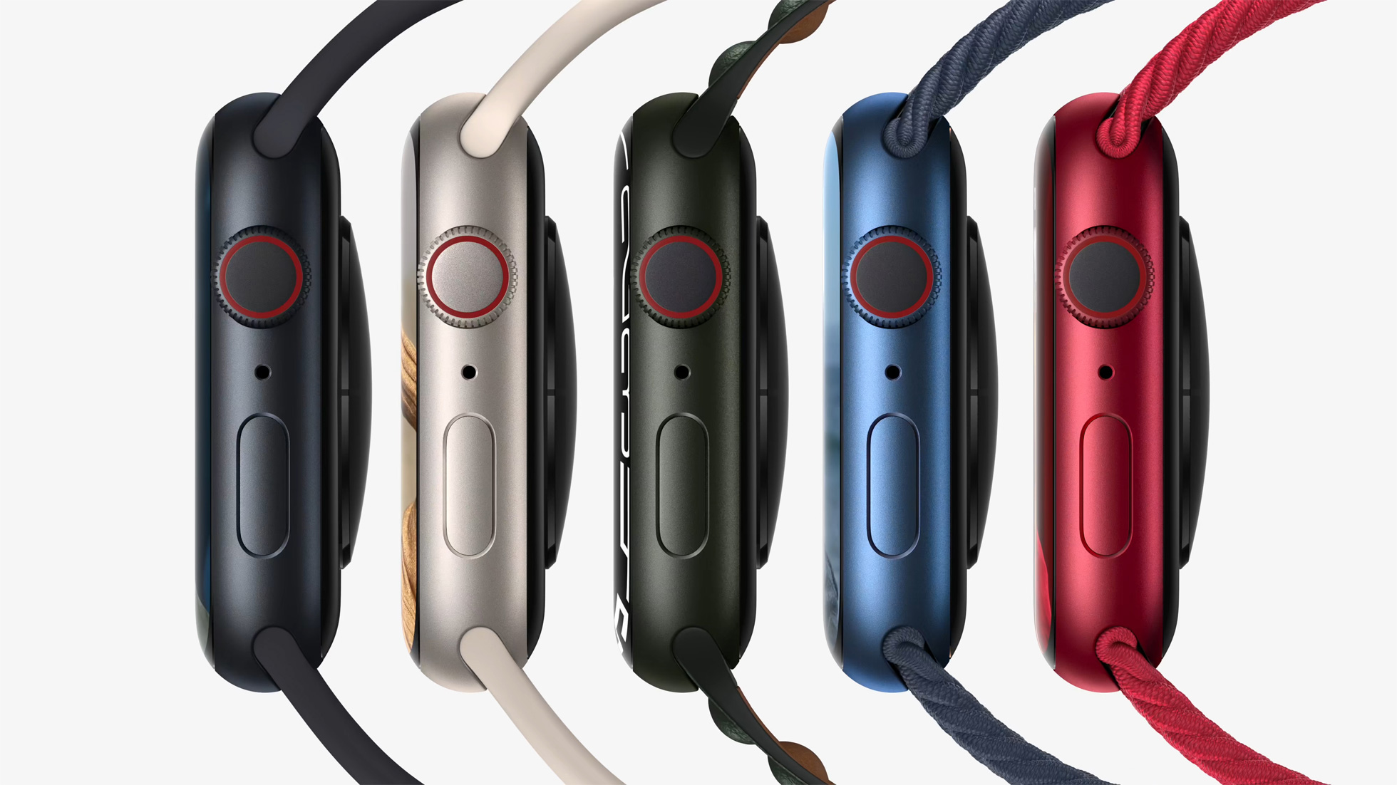 Some Customers Unhappy With Apple Watch Series 7 Color Options