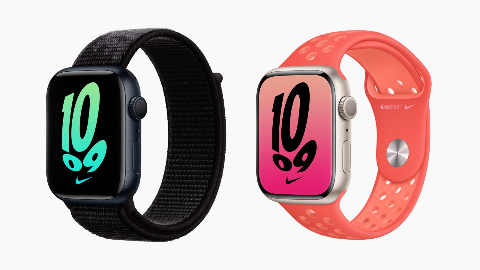 apple watch series 7 nike models