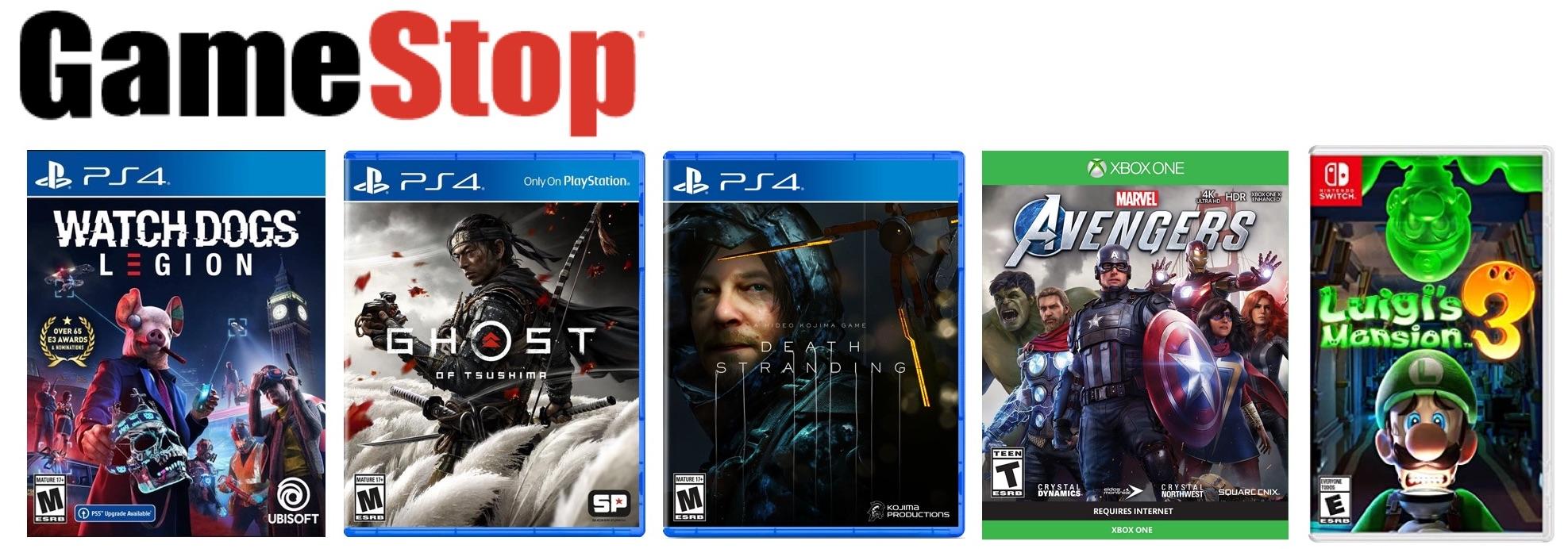 gamestop bf 2020