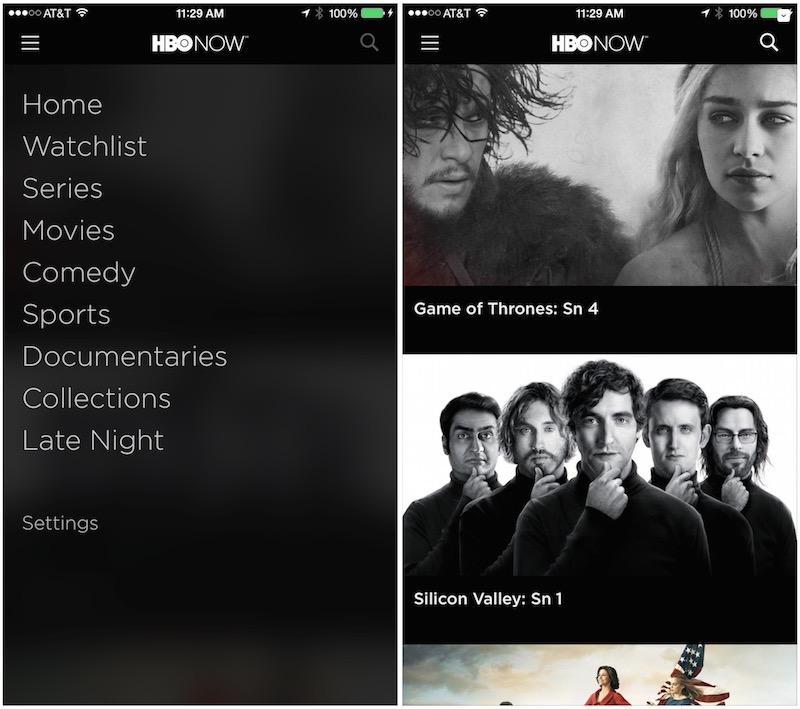 HBO Now iPhone iPad