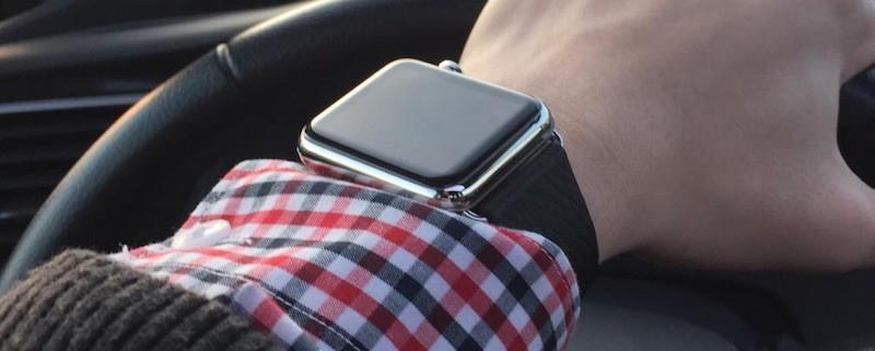Apple Watch Driving