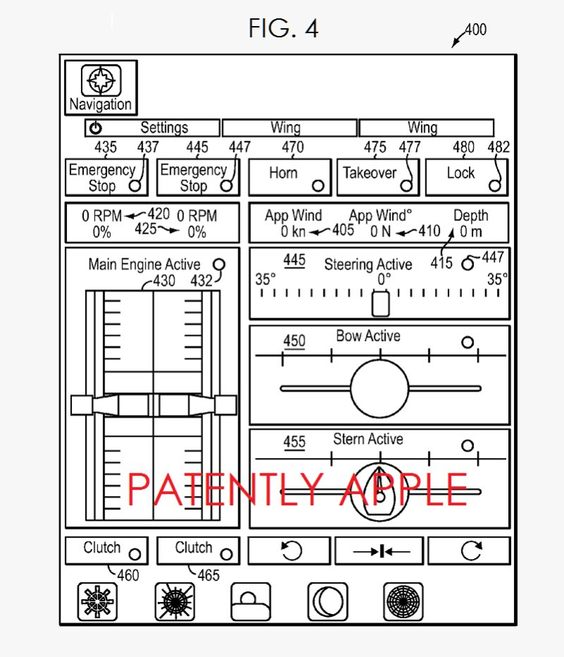 yacht patent 1