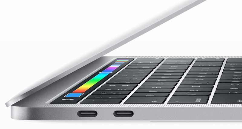 thunderbolt 3 ports macbook pro