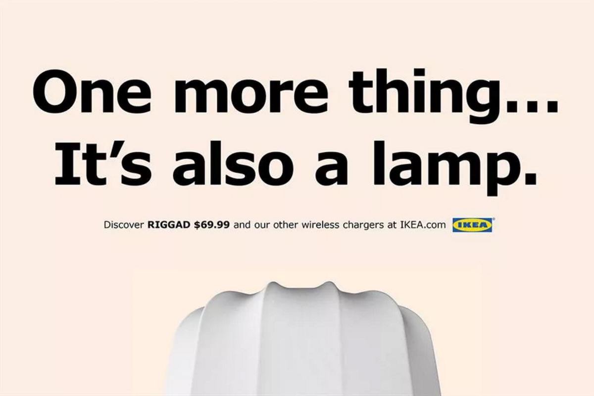 Ikea Launches New Apple Inspired Ad Campaign For Qi Charging Furniture Macrumors