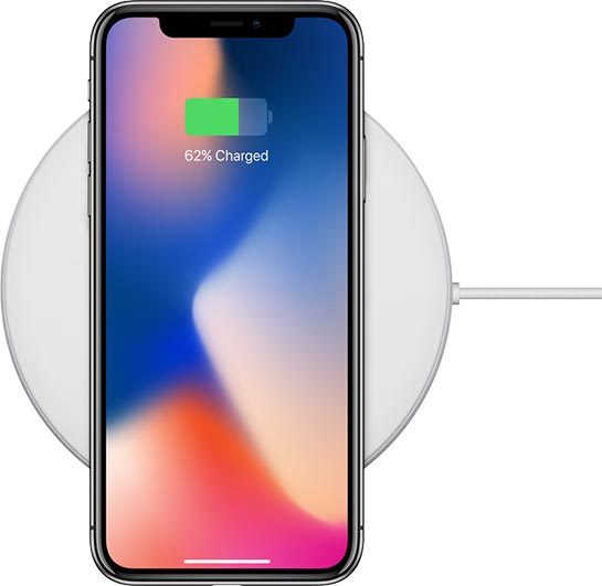 iphone x wireless charging
