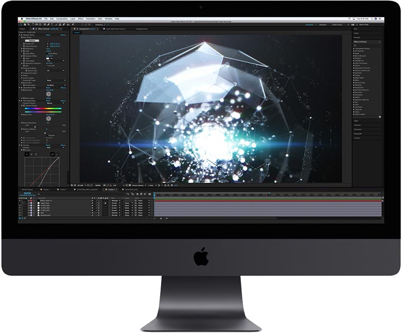 imac pro after effects