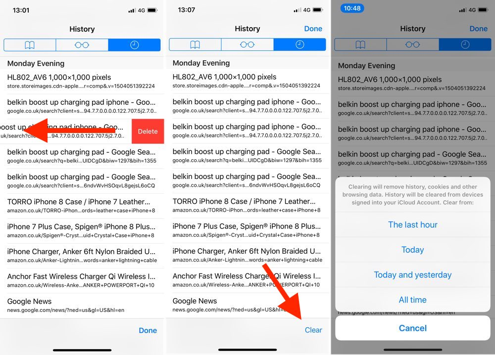 How to Use Safari's Private Browsing Mode and Delete Your ...
