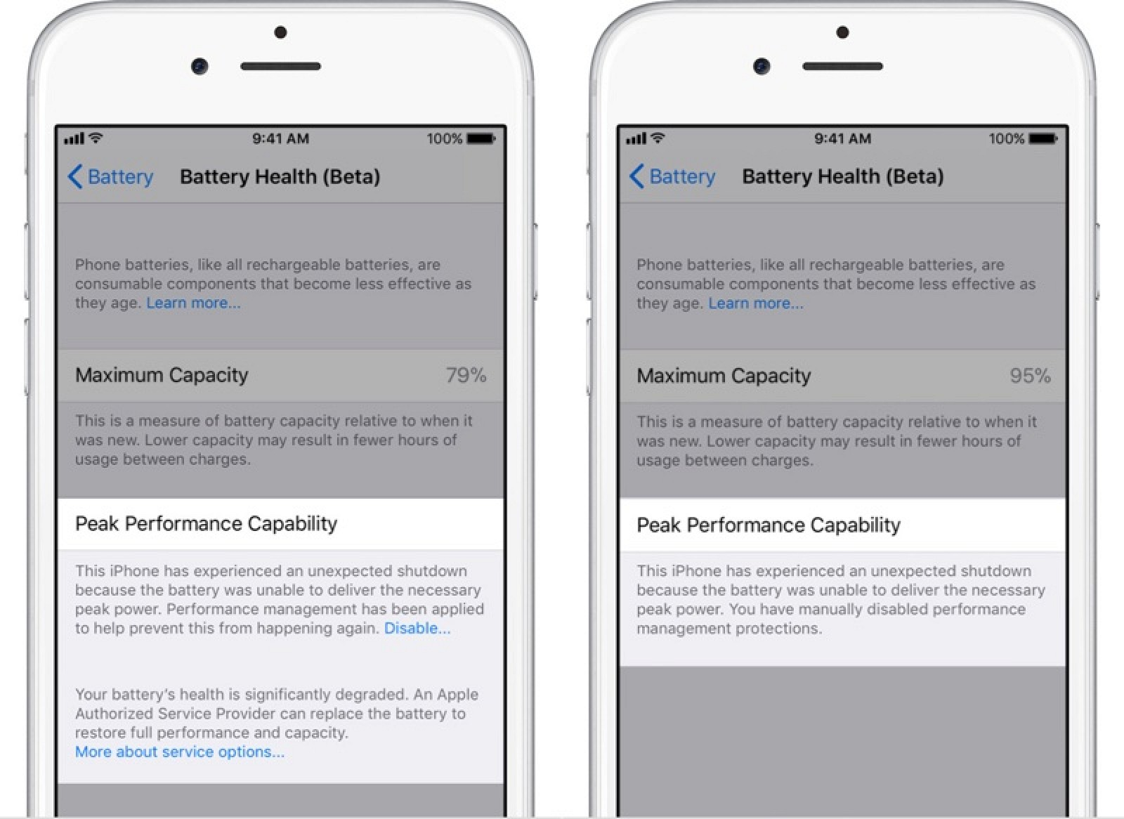How To Disable Apples Performance Management Features In