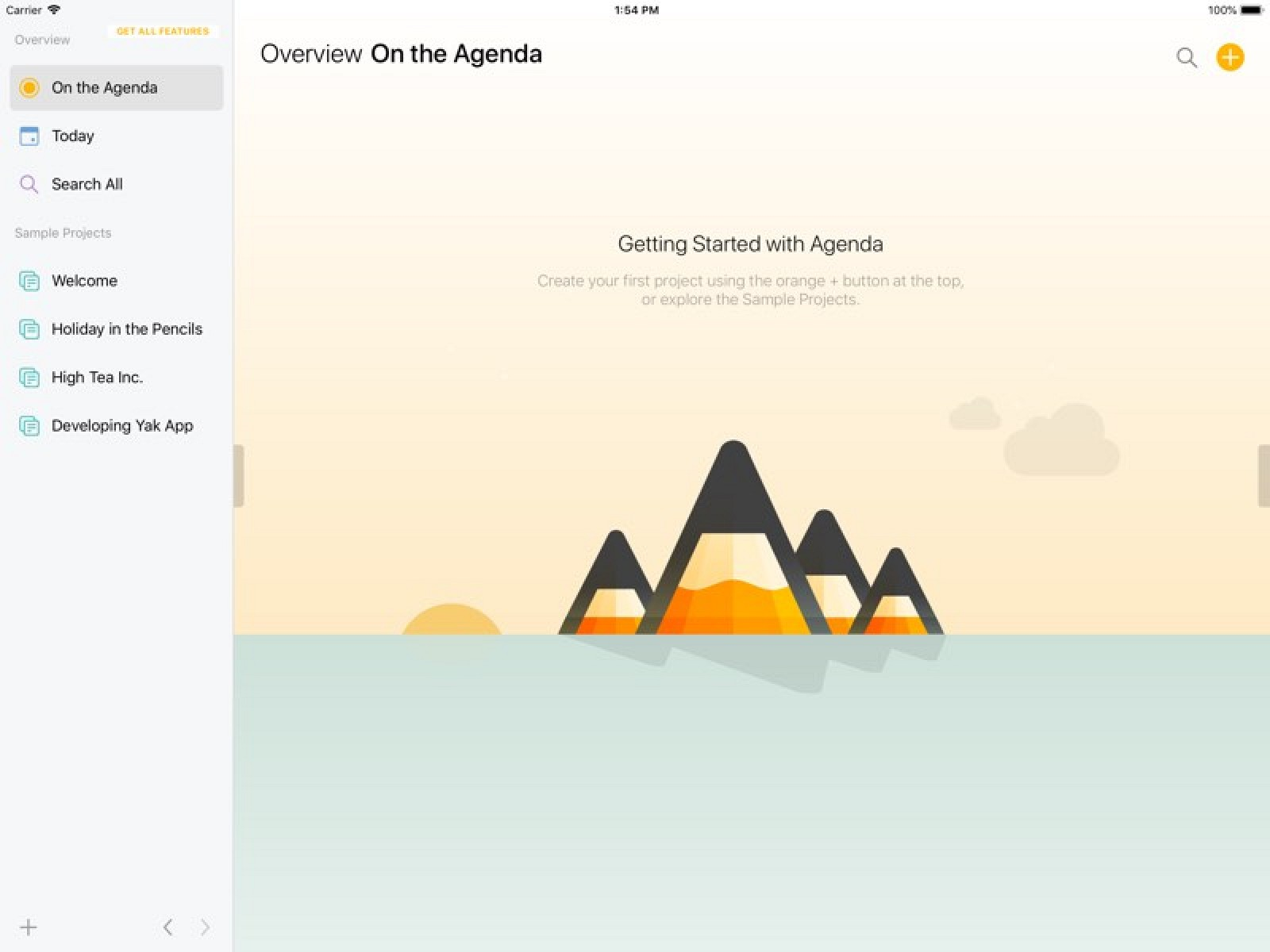 Agenda App Sync popular date-based note taking app agenda expands to ios