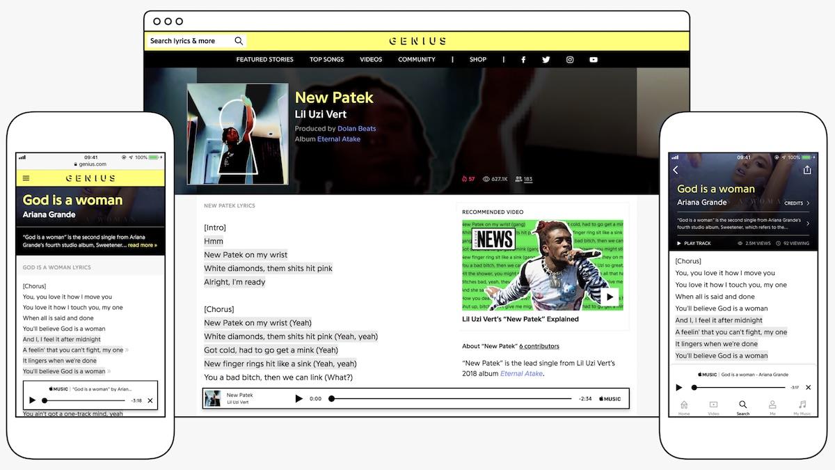 Apple Music Partners With Lyric Database Genius Macrumors