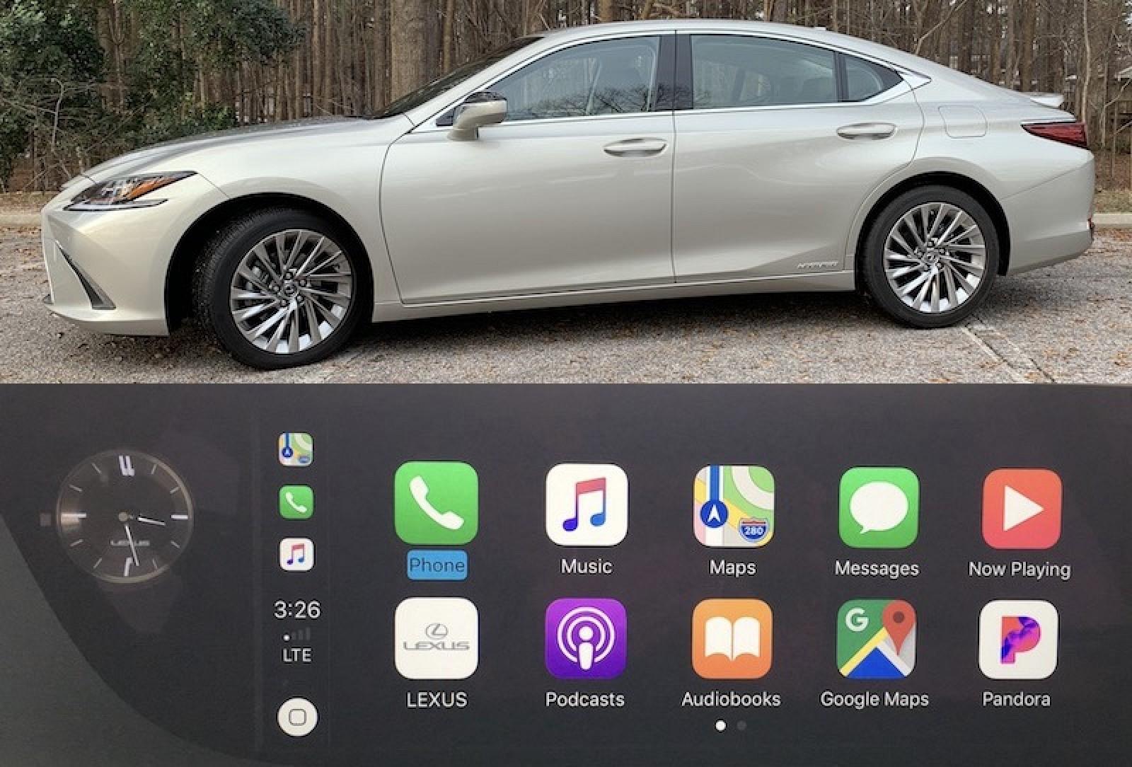 Lexus Apple Carplay >> Review 2019 Lexus Es Features Optional Widescreen Carplay