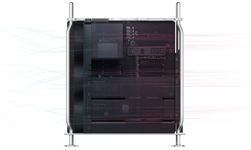 2019 mac pro airflow fans