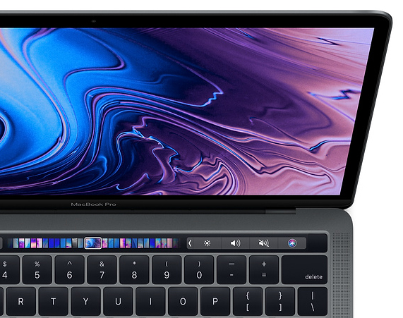 macbook pro w touch bar